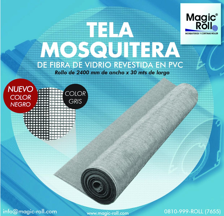 Tela Mosquitera Magic Roll Ventana En La Webventana En